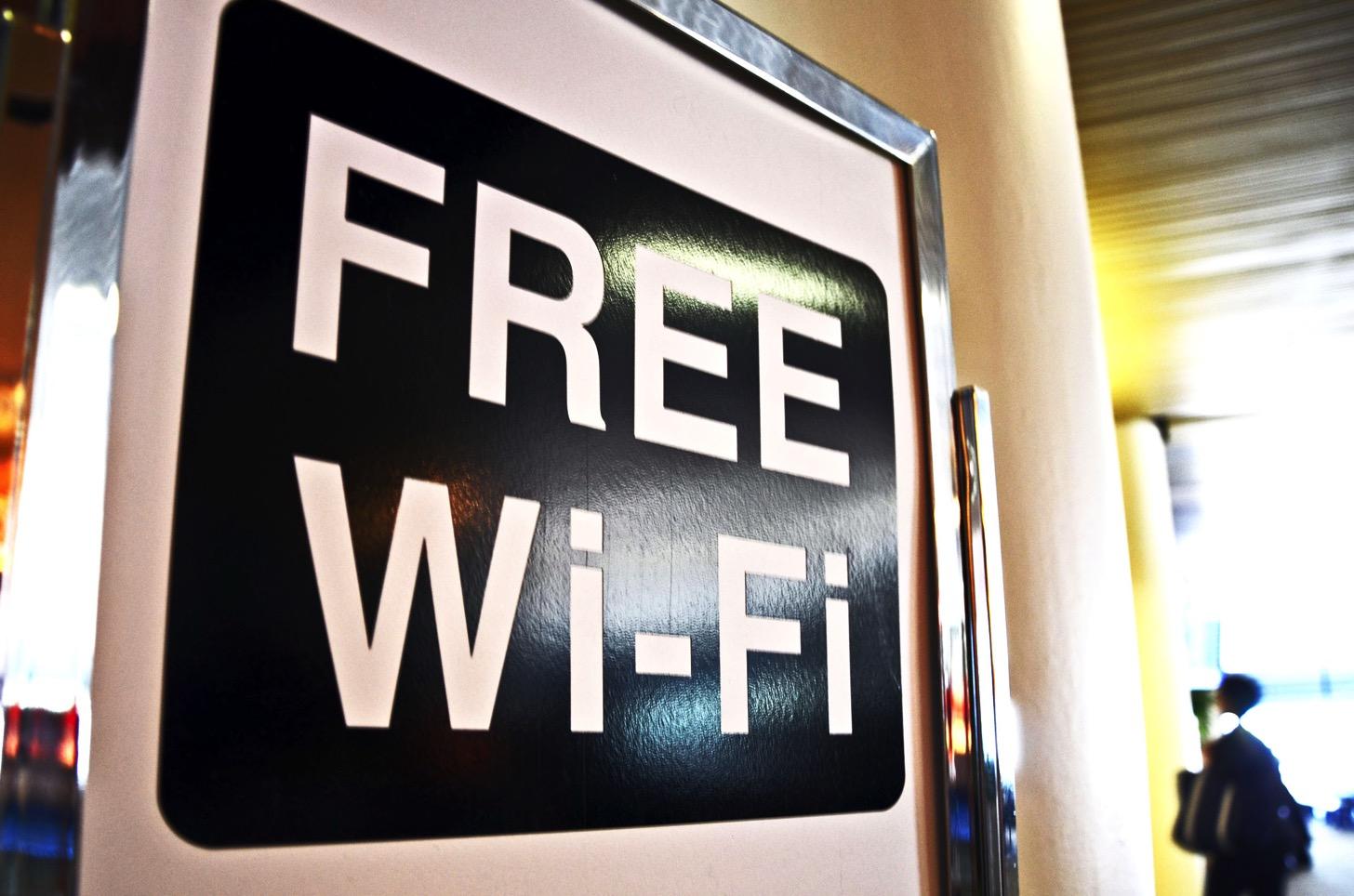 Free Wi-Fi(無料のWi-Fi)