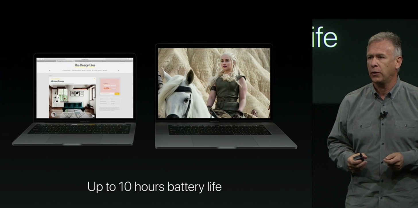 Equipped with a touch Bar the new macbook pro 13 and 15 inches in appearance 100