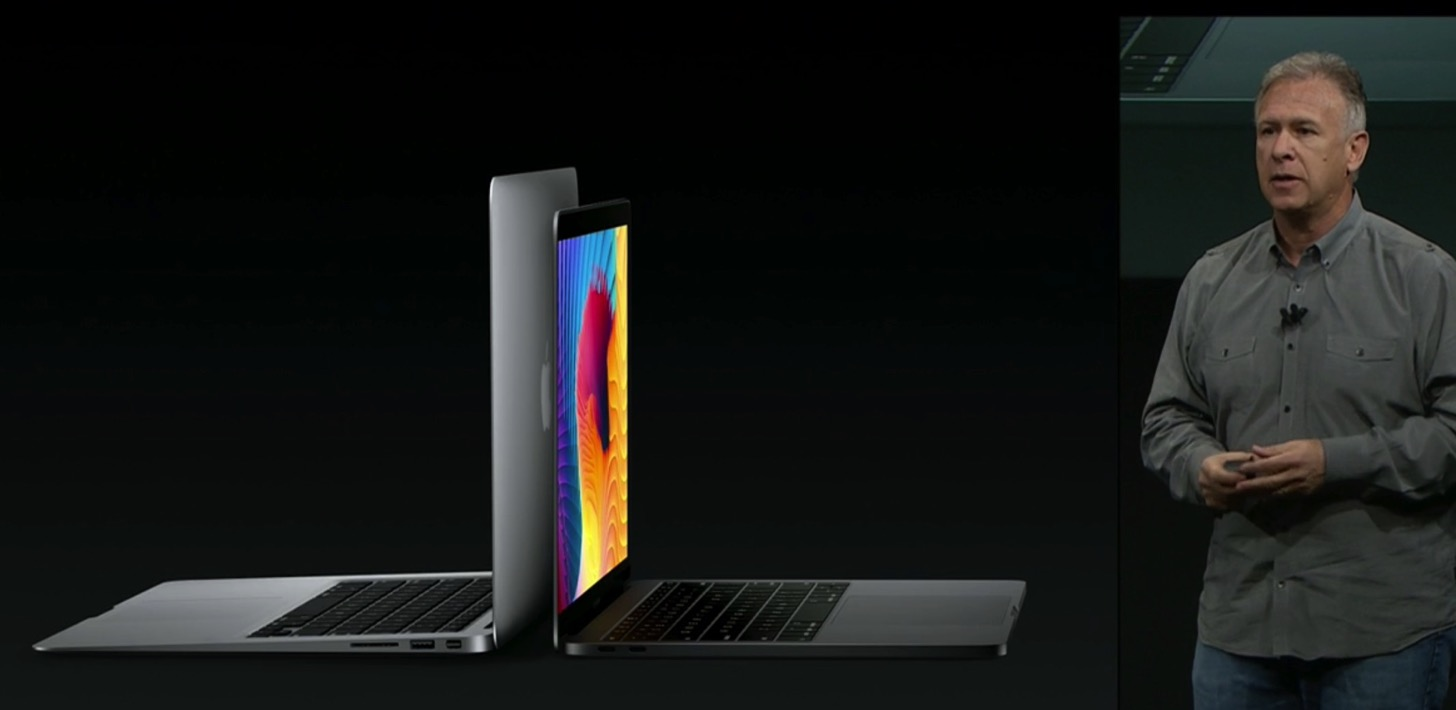 Equipped with a touch Bar the new macbook pro 13 and 15 inches in appearance air