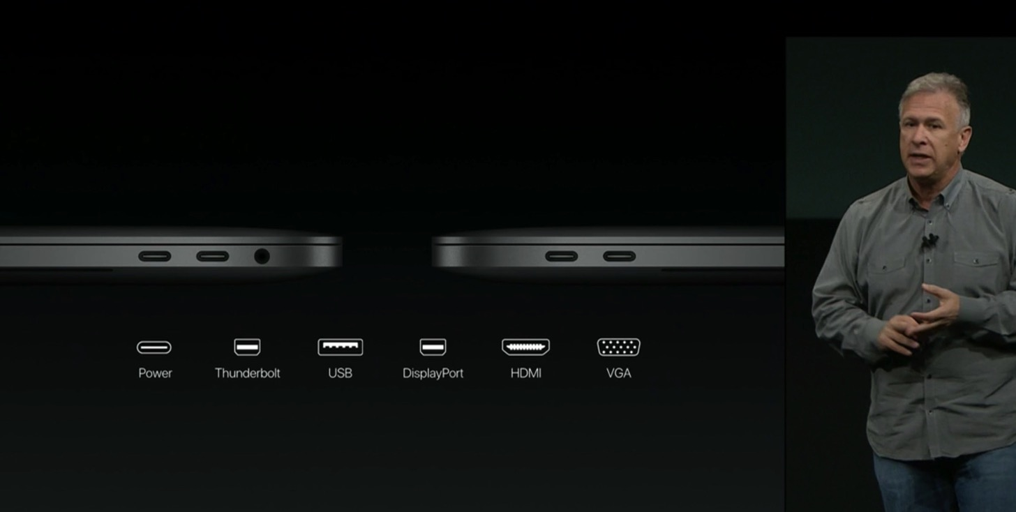 Equipped with a touch Bar the new macbook pro 13 and 15 inches in appearance next