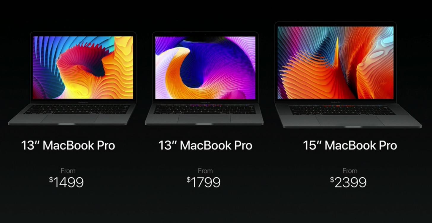 MacBook Proの価格