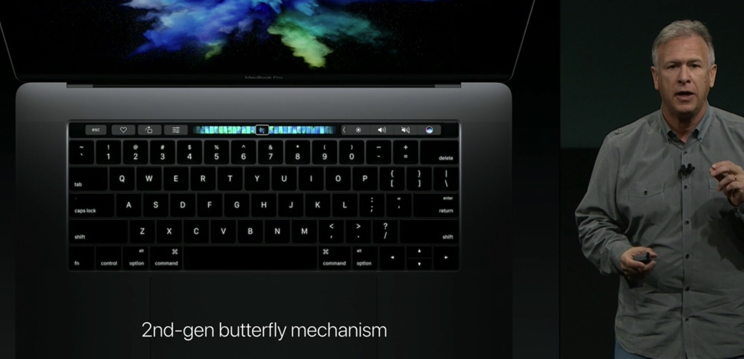 Equipped with a touch Bar the new macbook pro 13 and 15 inches in appearance11