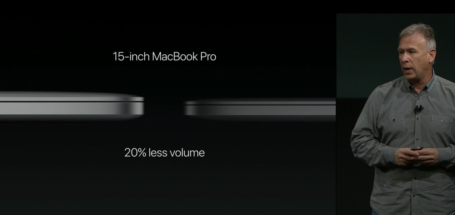 Equipped with a touch Bar the new macbook pro 13 and 15 inches in appearance16