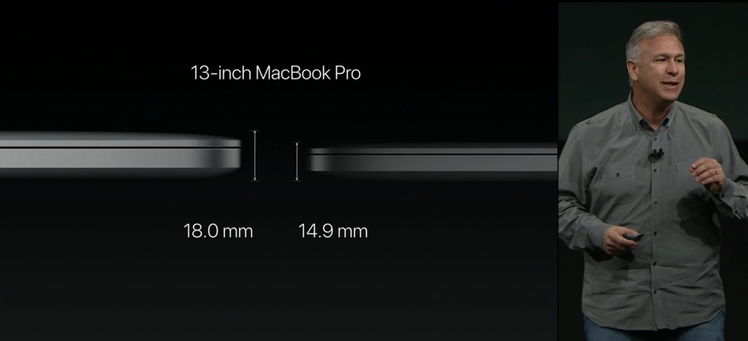 Equipped with a touch Bar the new macbook pro 13 and 15 inches in appearance2