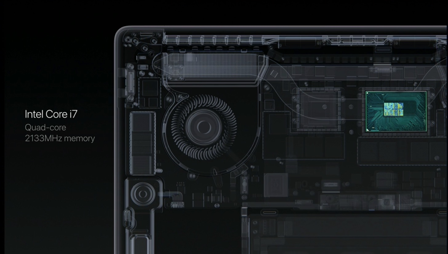 Equipped with a touch Bar the new macbook pro 13 and 15 inches in appearance200