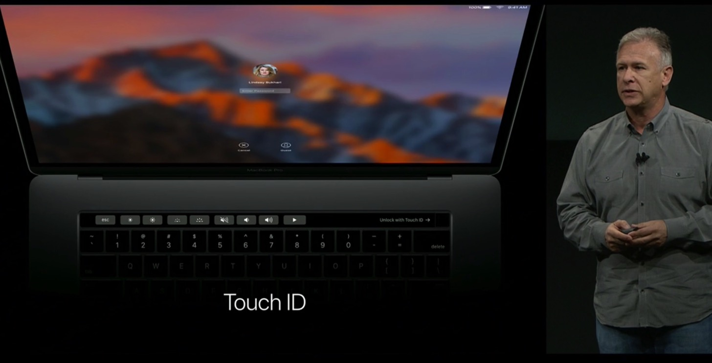 Equipped with a touch Bar the new macbook pro 13 and 15 inches in appearance21