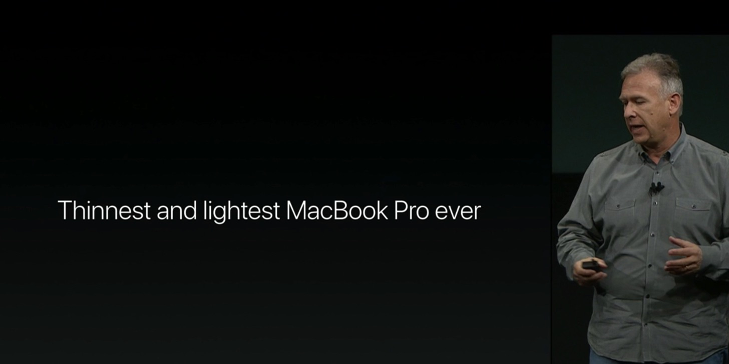 Equipped with a touch Bar the new macbook pro 13 and 15 inches in appearance23