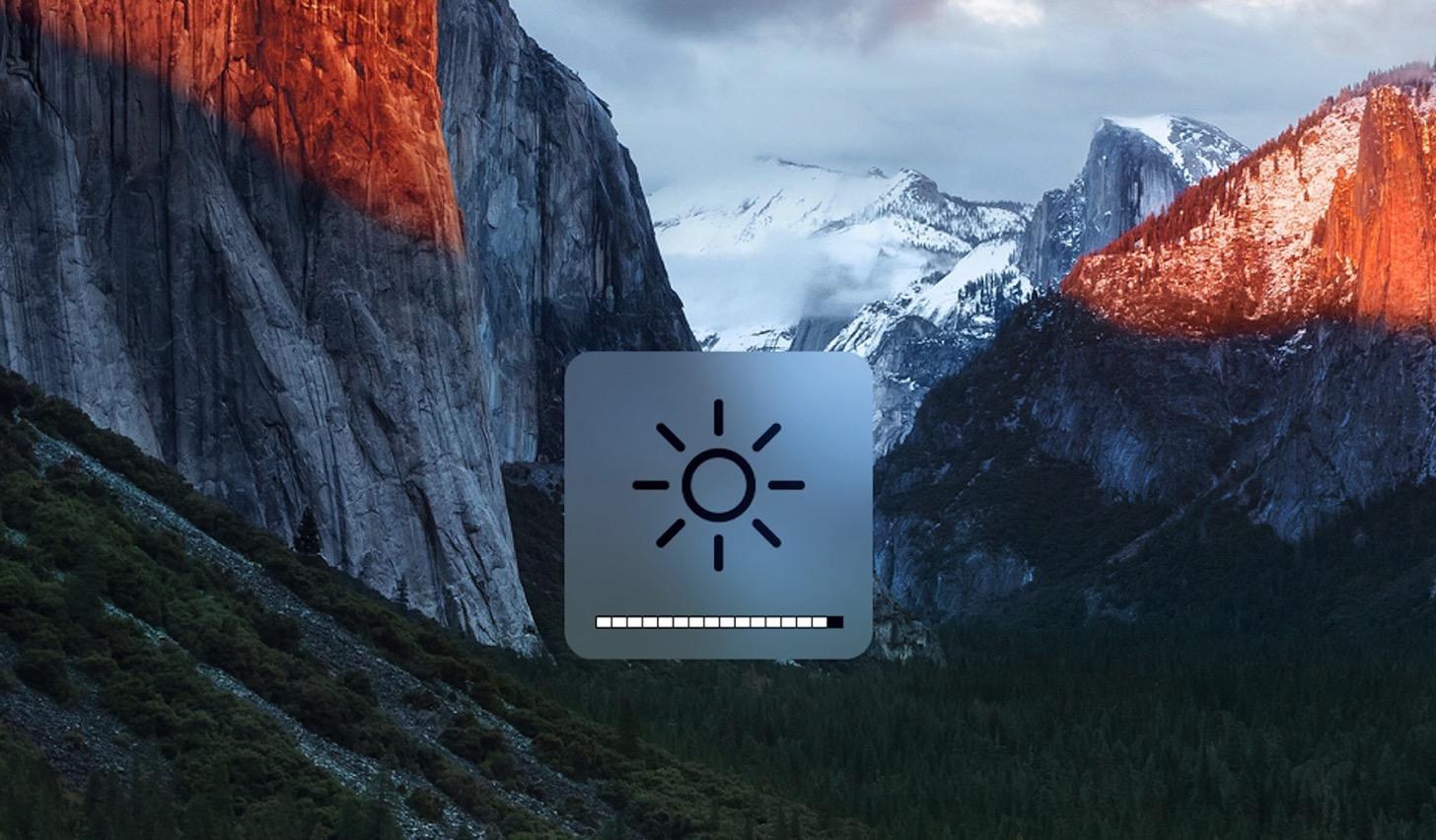 Macの音量と画面の明るさを微調整する方法。