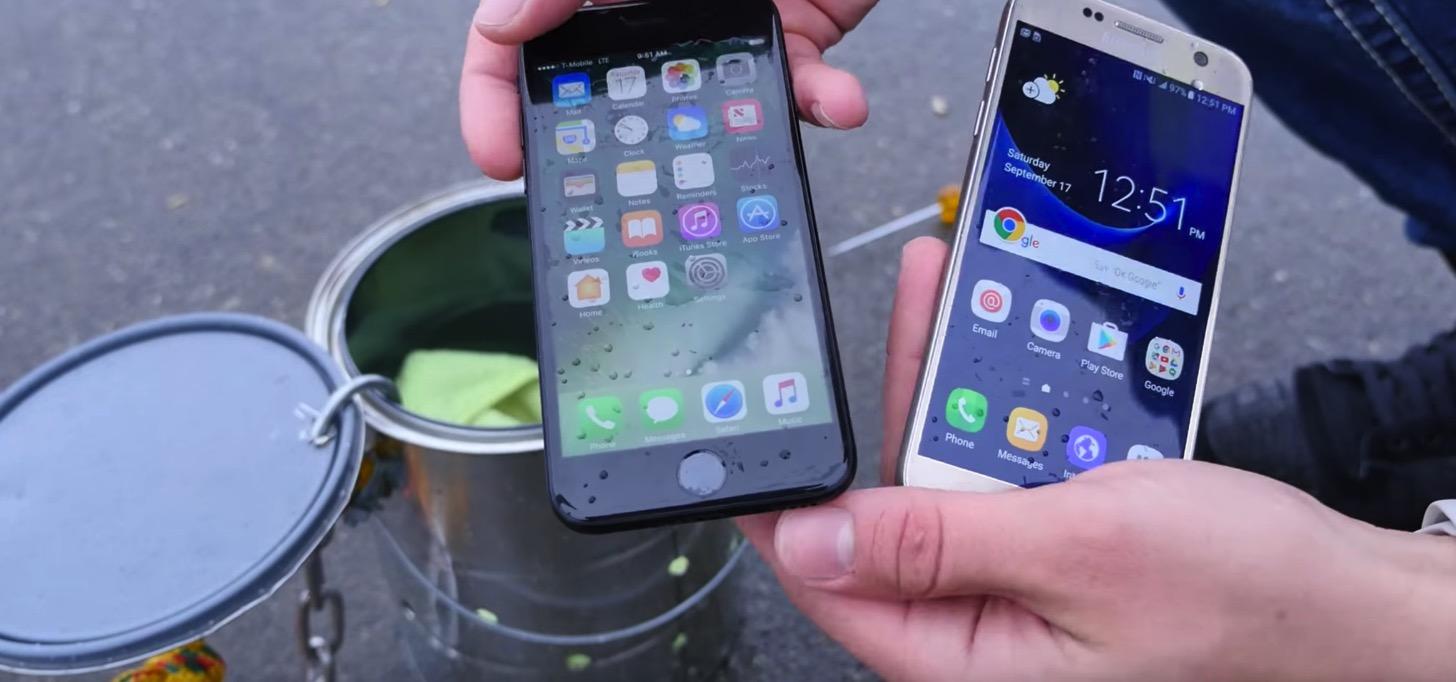 6メートルの海に沈めても大丈夫な、防水機能を持つiPhone 7