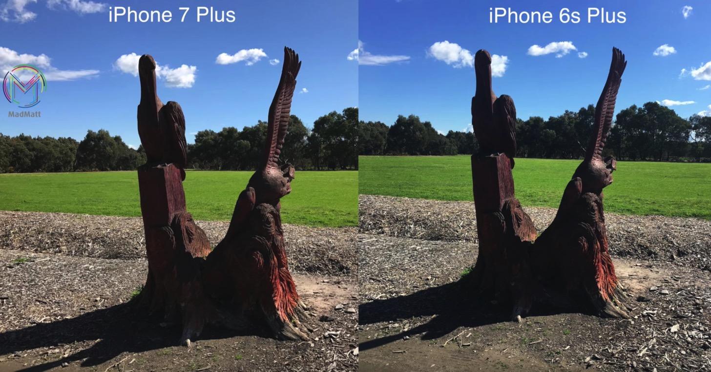 iPhone 7 PlusとiPhone 6sで満天の太陽の下、モニュメントを撮る。
