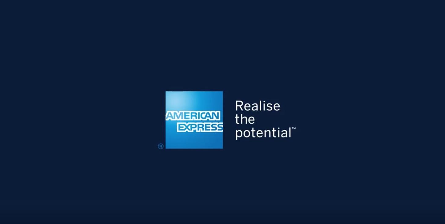 アメリカン・エキスプレス Realise the Potential