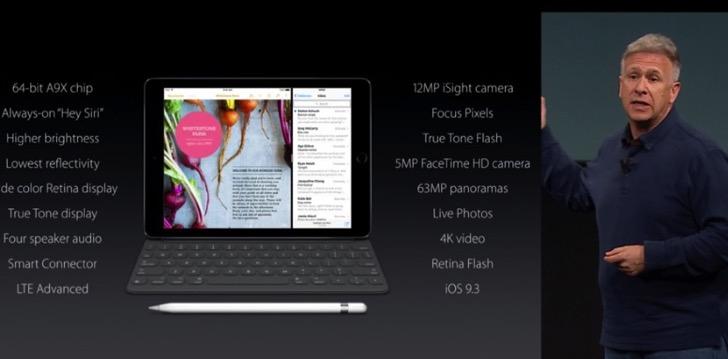 iPad Pro 9.7インチの新機能。