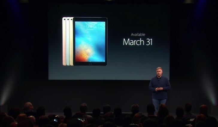 iPad Pro 9.7インチの発売日。