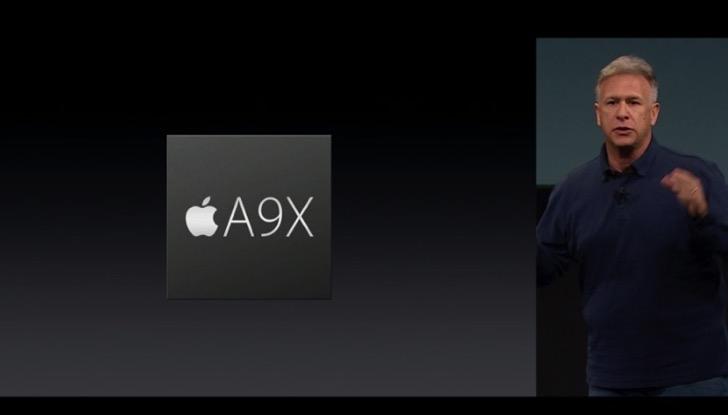 iPad Pro 9.7インチはA9Xチップを内蔵