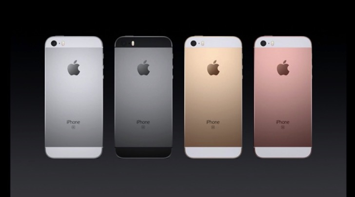 iPhone SEカラーリング