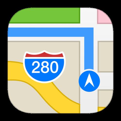 Appleの純正マップ