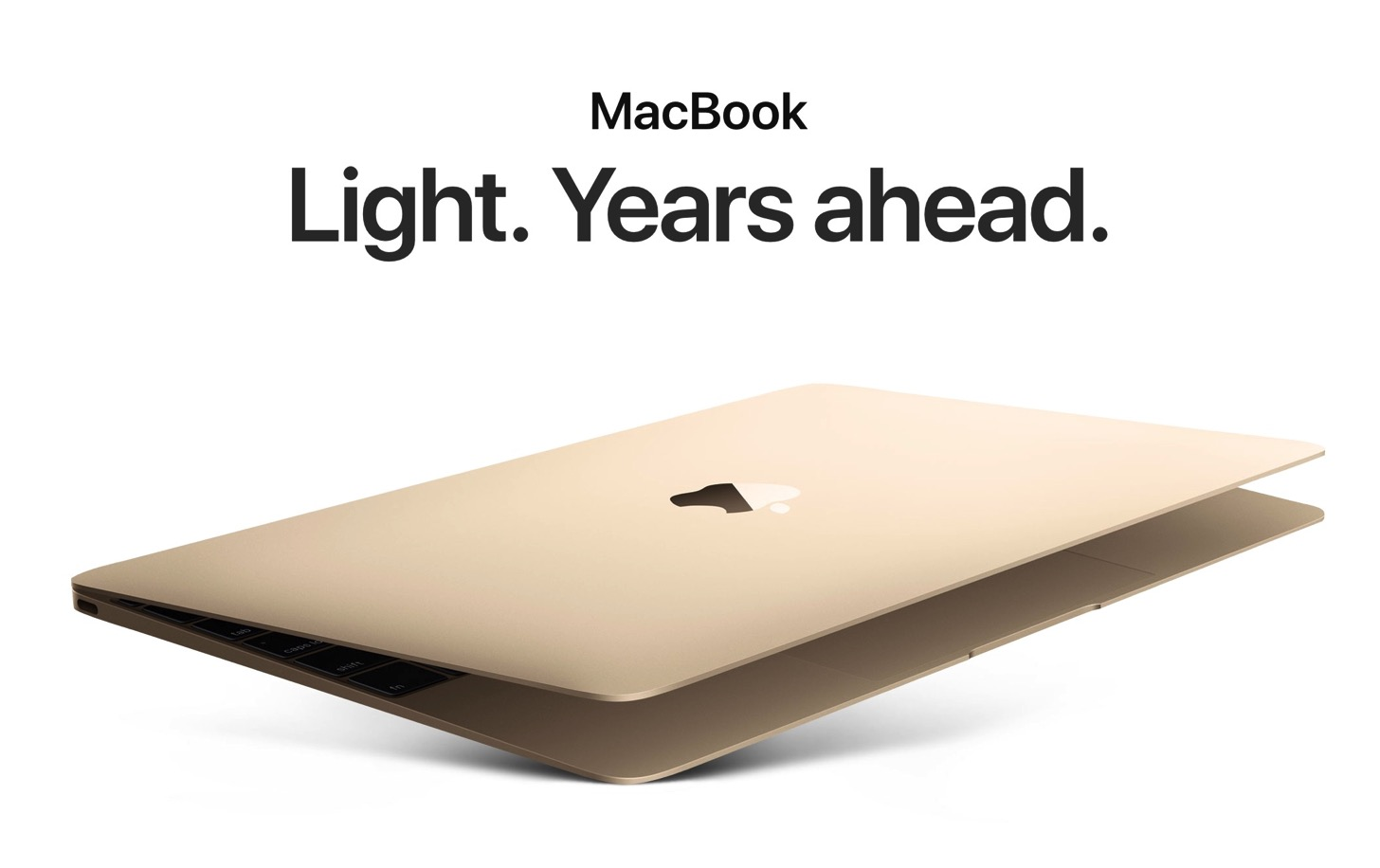 Kaby Lakeを採用したMacBook