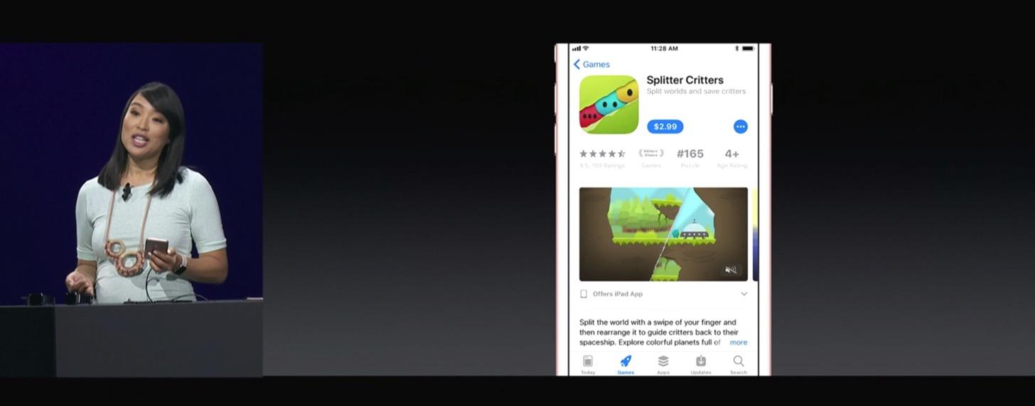 iOS 11のApp Store