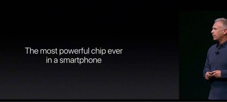 iPhone 7はスマホの中で最もパワフルなチップを内蔵している。
