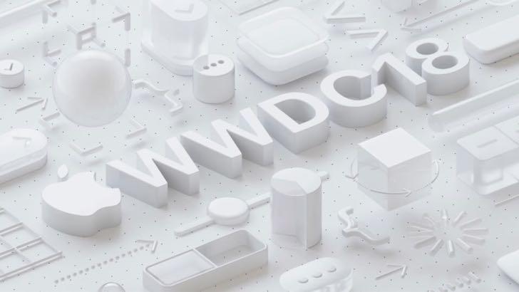 本物のWWDC 2018のロゴ