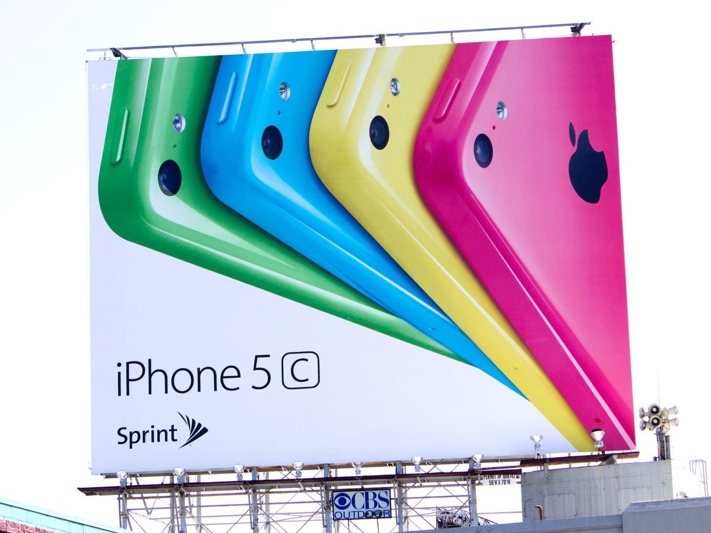iPhoneの多色カラーバリエーション