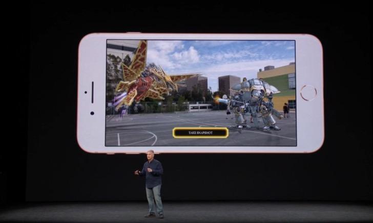 iPhone8のAR(拡張現実)機能