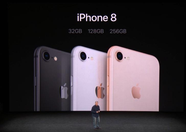iPhone8のカラーバリエーションは3色