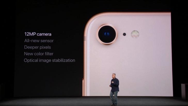 iPhone 8のカメラ
