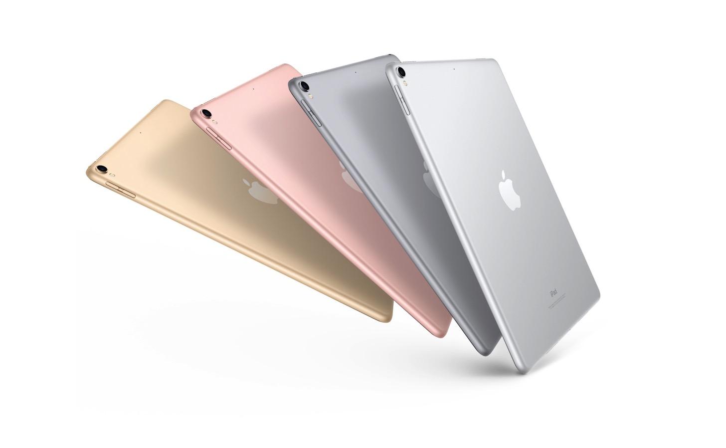 新しいiPad Pro 10.5インチと12.9インチ