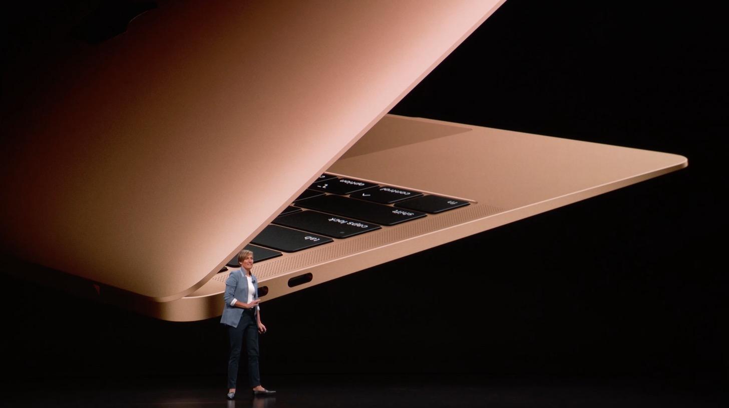 MacBook Air Retinaディスプレイモデル 2018