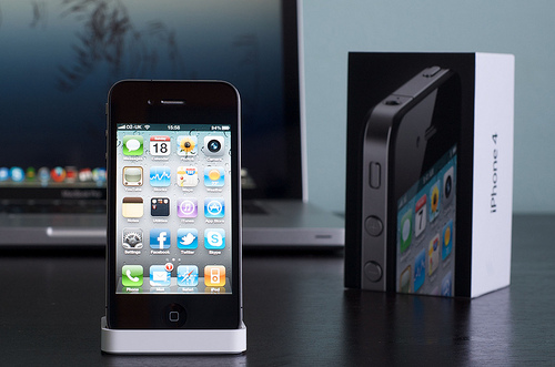 iPhone 4をレントゲンしてみた。