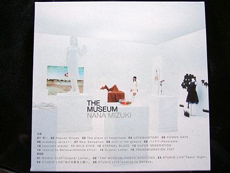 THE MUSEUM裏面ジャケット