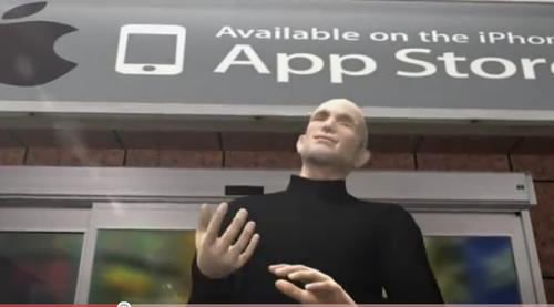 App Storeのウィキリークス閲覧アプリ提供停止を皮肉ったムービー