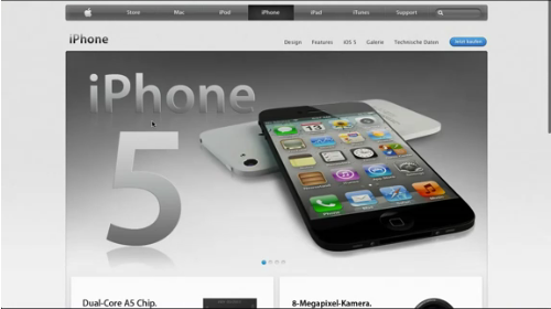 Iphone 5 apple intoduction wrong posted