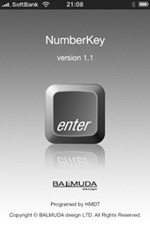 iPhoneがテンキーキーボードになっちゃうアプリ「NumberKey」