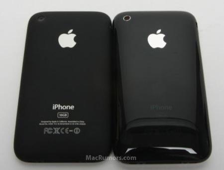 新型iPhoneとiPhone 3Gの裏側比較写真なのか!?