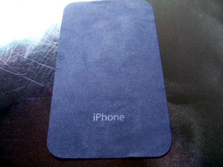 iPhone 3G拭き