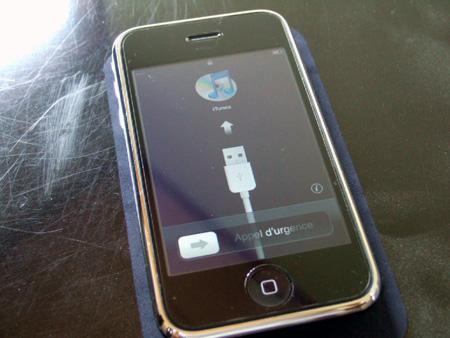 iPhone 3Gの姿。