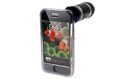 iPhoneに望遠スコープをつけるアクセサリがあるw