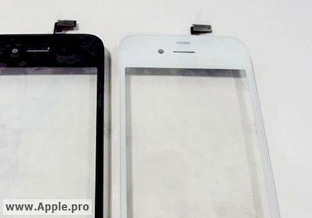 iPhone 4Gのホワイト色は、前面も白になる!?