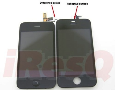 iPhone 4G は、従来のiPhoneより長くなる!?