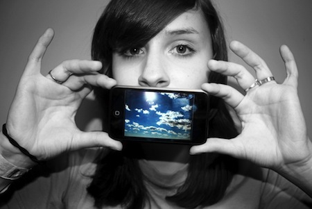 iPod touch girl