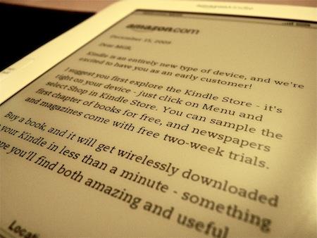 Amazon、Kindle for iPadのリリースを予告。