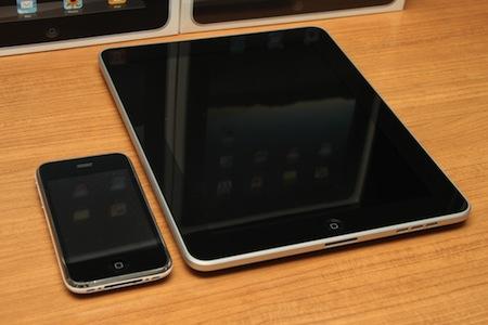 iPad は iPhone 3GS の2倍高速らしい。