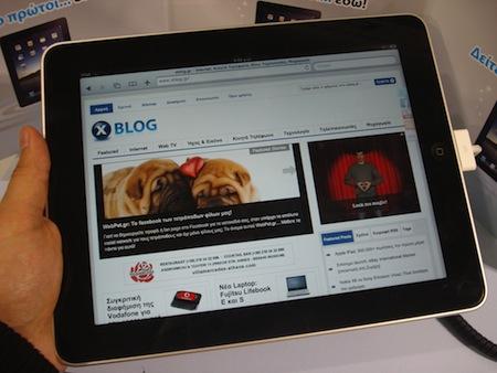 iPad 3Gのバッテリーの持ちは8時間。Appleが公表してる9時間に近い結果。
