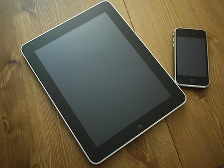 iPadで大文字アルファベットを連続で入力する方法。