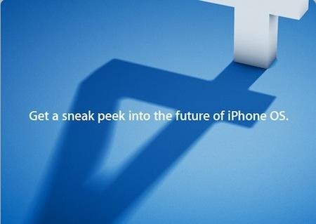 Apple、4月8日10時よりiPhone OS 4.0のイベントを開催!