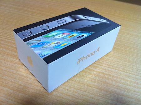 iPhone 4パッケージ