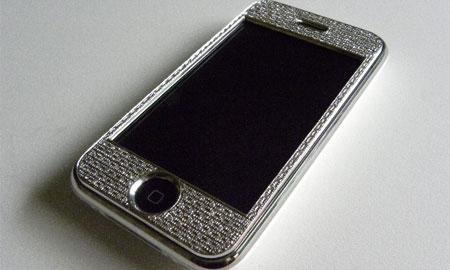 なんと88万円もするiPhoneダイヤカバーが登場。
