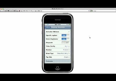 iPhoneを操作している様をビデオキャプチャできるアプリが登場!